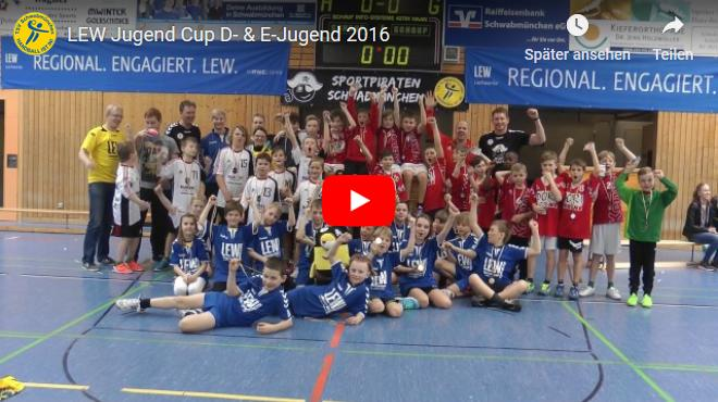 E- und D-Jugend LEW Jugend Cup Video